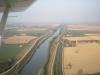 Canale in Pianura Padana
